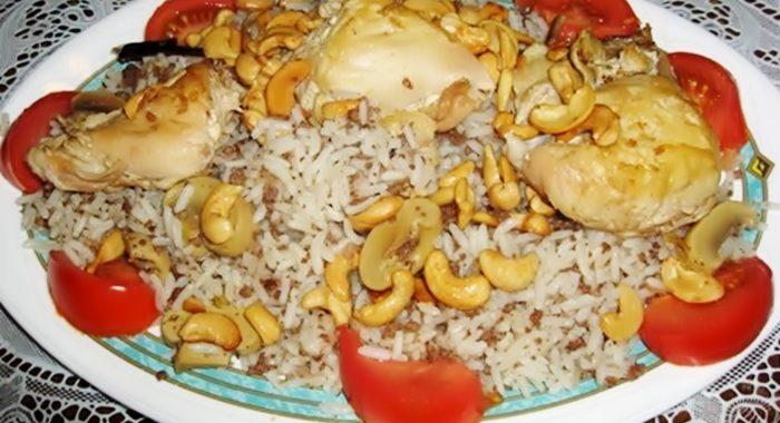 Арабское блюдо Аузи рецепт приготовления