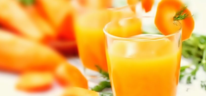 Ананасово-Морковный сок с имбирем рецепт