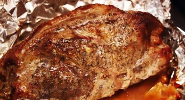 Запеченное мясо в фольге рецепт приготовления