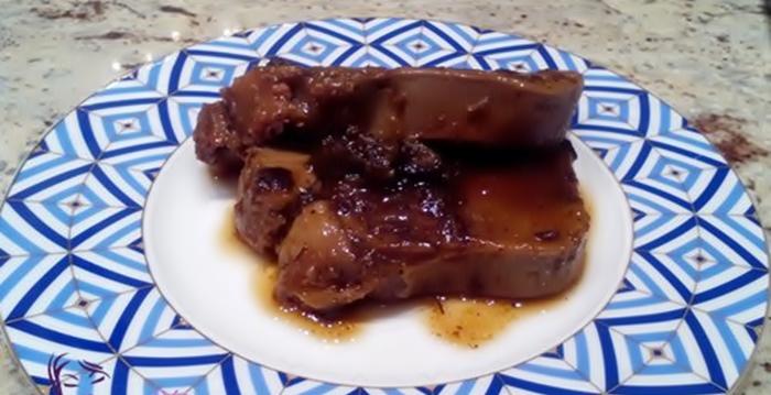 Говяжий язык тушеный с черносливом рецепт приготовления