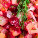 Северный салат из сельди рецепт приготовления