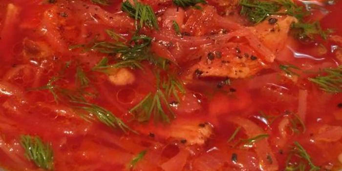 Как приготовить вкусный борщ – рецепт