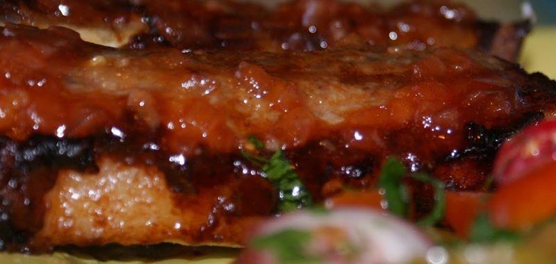 Свиные ребрышки в духовке рецепт приготовления