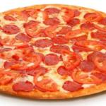 Острая пицца с колбасой рецепт приготовления