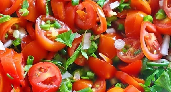 Томатный Габи салат рецепт приготовления