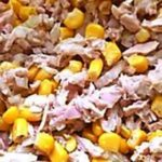 Салат с тунцом и кукурузой рецепт приготовления