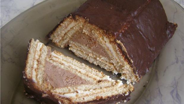 Торт «шоколадный слиток» – рецепт без выпечки