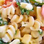 Сочный салат из макарон рецепт приготовления