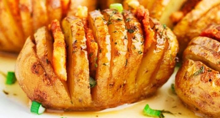 Картошка-гармошка рецепт приготовления