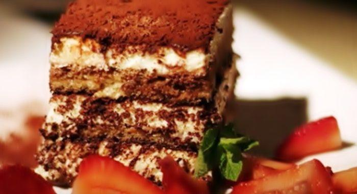 Как вкусно приготовить торт тирамису