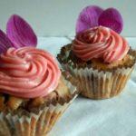 Маффины «Розовые розы» рецепт приготовления