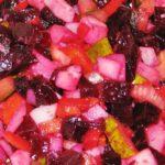 Вкусный винегрет со свеклой и морковью рецепт