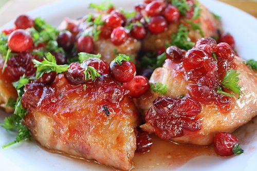 Курица в клюкве рецепт приготовления