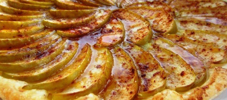 Яблочно-медовый пирог рецепт приготовления