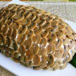 Салат в форме ананаса рецепт приготовления
