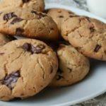 Рецепт овсяного печенья с шоколадом
