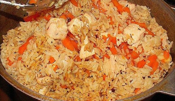Как приготовить плов из курицы – рецепт