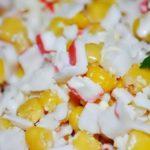 Салат из крабовых палочек с кукурузой рецепт
