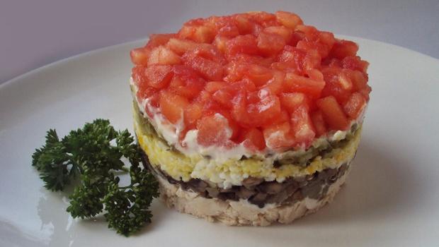 Салат красная шапочка рецепт приготовления