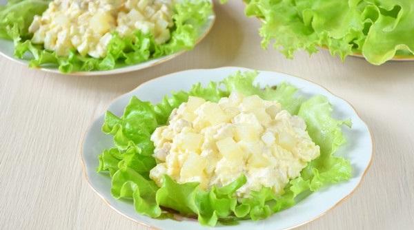 Салат «С перчинкой» рецепт приготовления