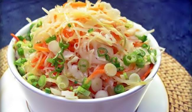 Салат из свежей капусты рецепт приготовления