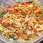 Спагетти салат рецепт приготовления