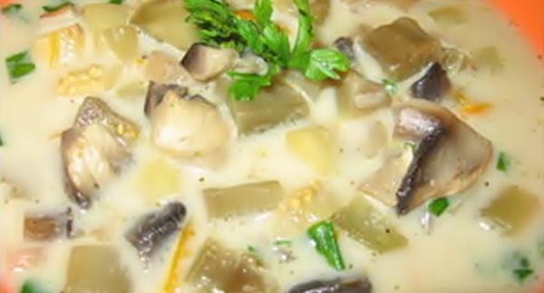 Суп с кабачками рецепт приготовления