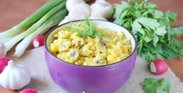 Овощной плов рецепт приготовления