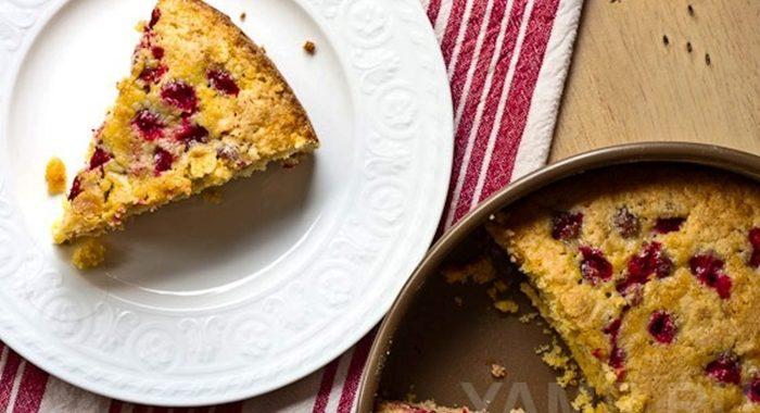 Пирог клюква рецепт приготовления