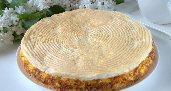 Творожный торт «Слезы ангела» рецепт приготовления