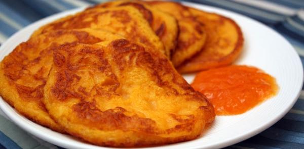 Оладьи из тыквы «Утро» рецепт приготовления