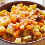 Овощное рагу «Фантазия весны» рецепт