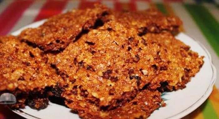 Овсяное печенье из отрубей и свеклы рецепт