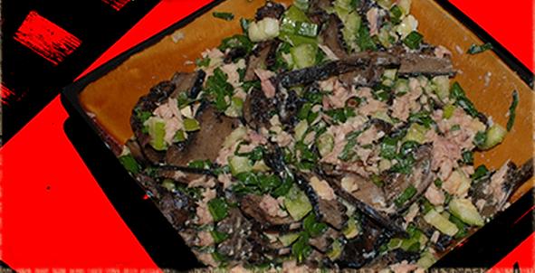 Салат с жаренными груздями рецепт приготовления