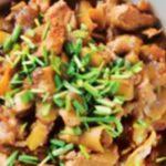 Куриная запеканка с морковью и яблоками рецепт приготовления