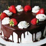 Торт Соблазн с домашним творогом рецепт