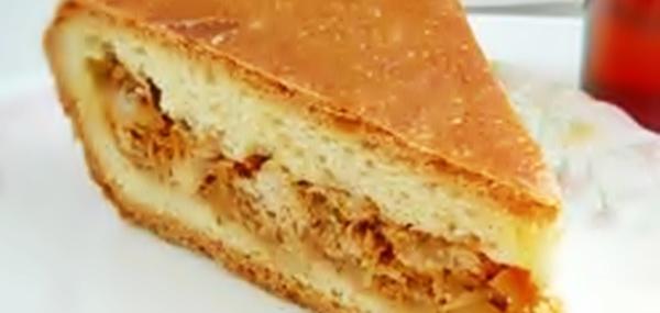 Пирог с капустой и сайрой рецепт приготовления