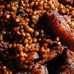 Пряная свиная поджарка рецепт приготовления