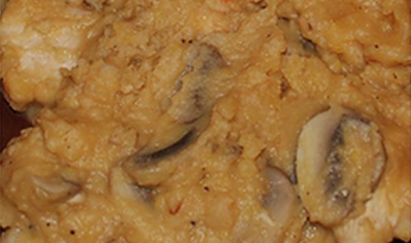 Гороховое пюре с курицей и грибами рецепт приготовления