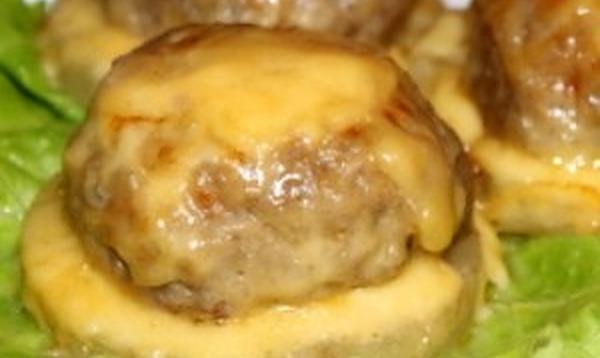 Биточки мясные с сыром рецепт приготовления