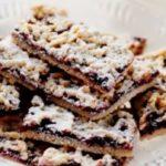 Сливочное печенье со смородиновым джемом рецепт