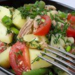 Салат с тунцом и фасолью рецепт приготовления