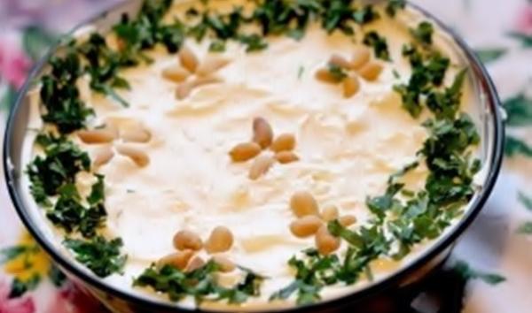 Свекольный салат с грецкими орешками рецепт приготовления