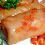 Голубцы со свининой рецепт приготовления