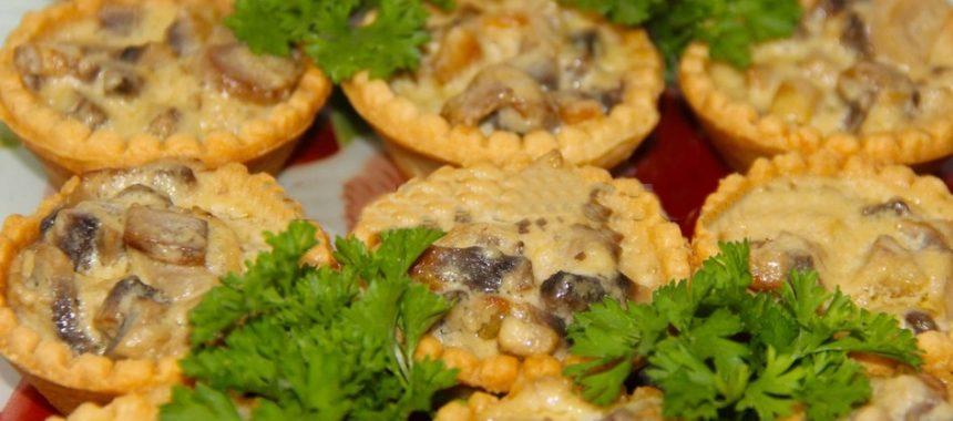 Жульен в тарталетках с грибами рецепт