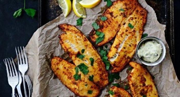 Рыба Тилапия в духовке с лимоном и чесноком рецепт