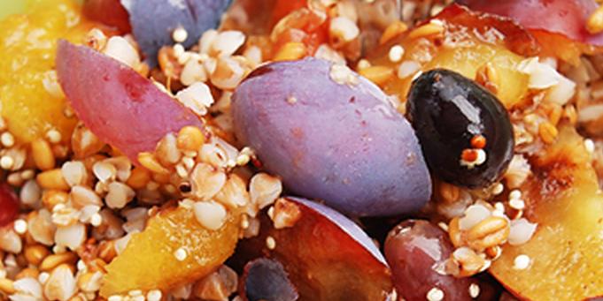 Смешанная каша с фруктами рецепт приготовления