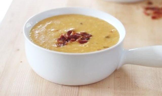 Кукурузный суп с беконом рецепт приготовления