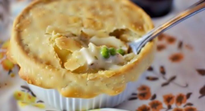 Куриный пирог в духовке рецепт