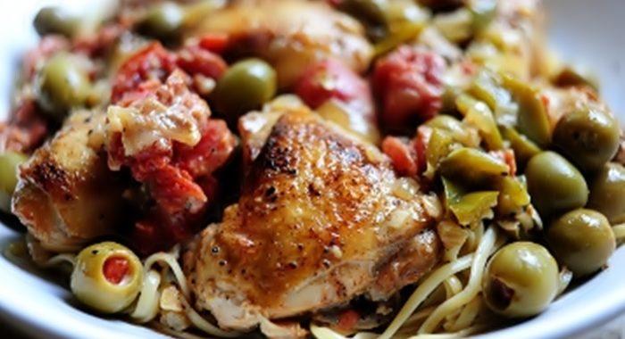 Курица с пастой рецепт приготовления